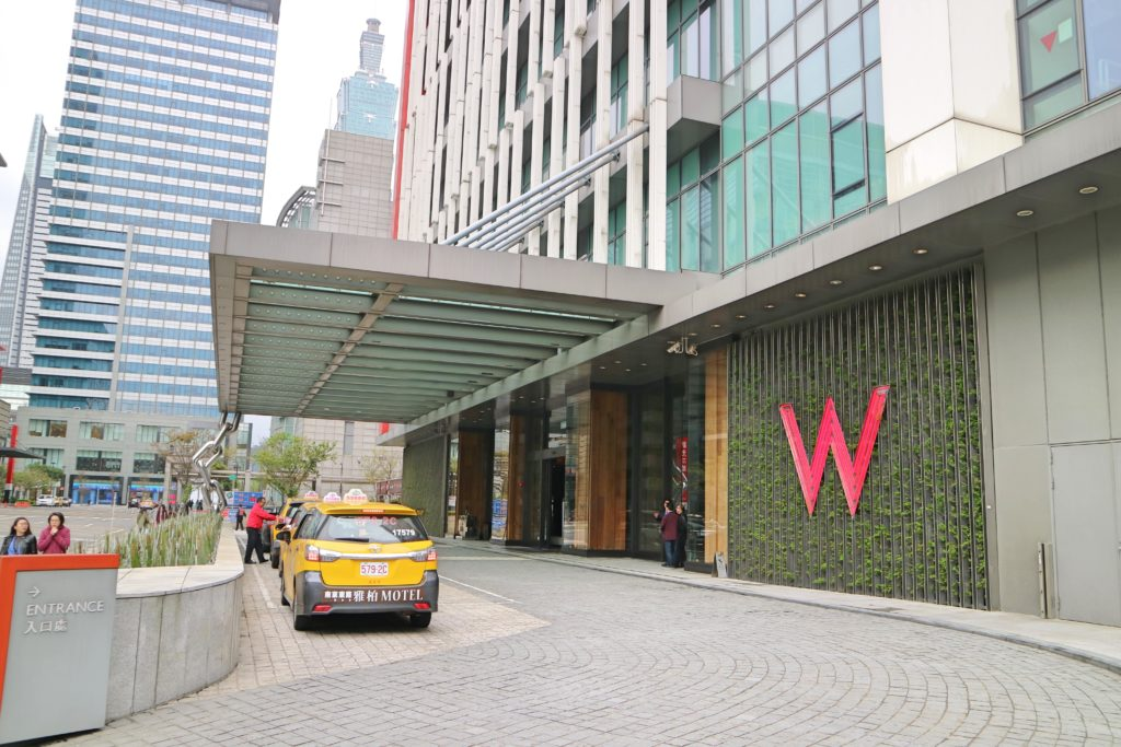 Wホテル台北