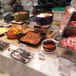 【レストラン】コートヤードバイマリオット台北のビュッフェの様子