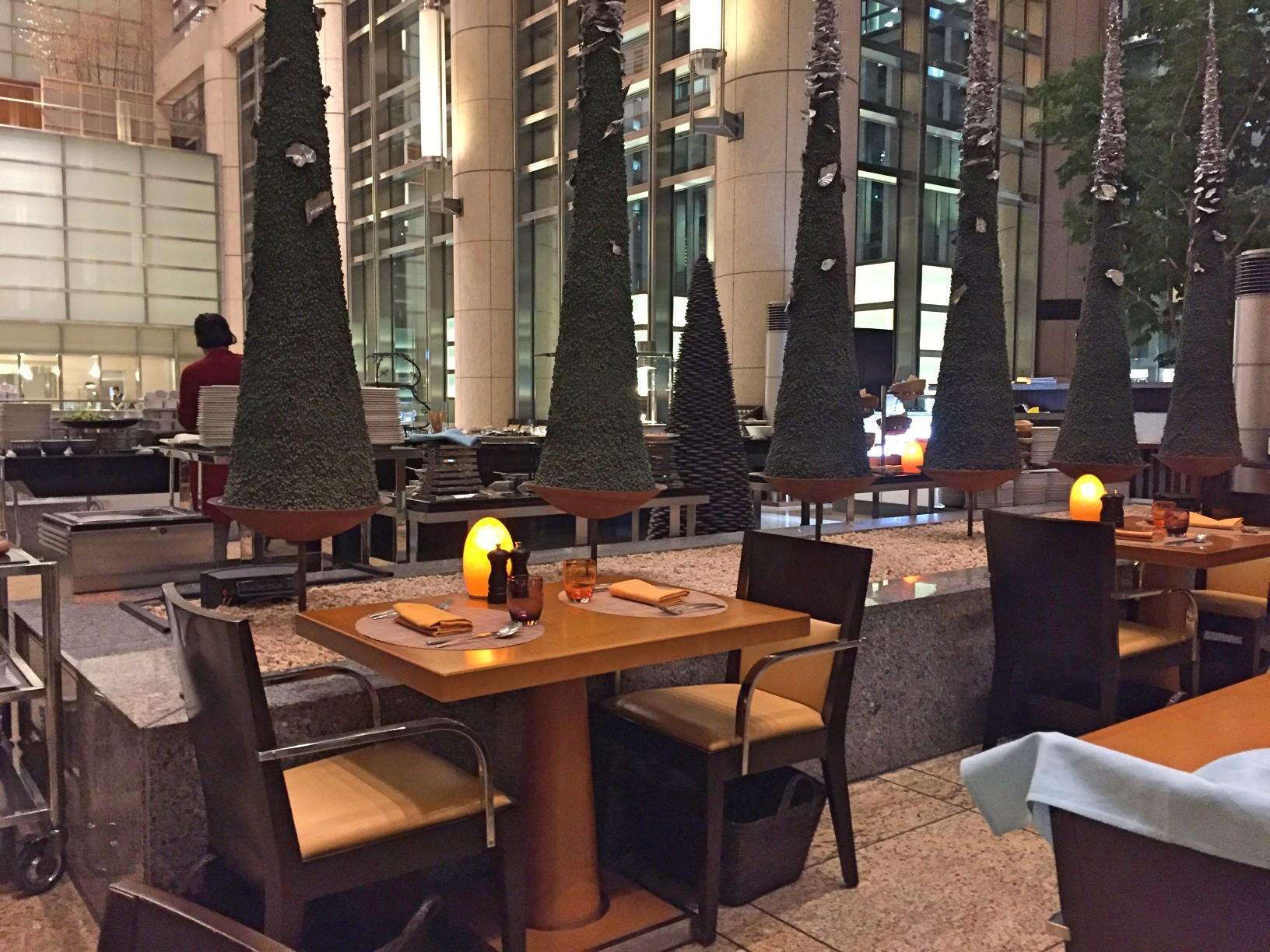 マンダリンオリエンタル東京ヴェンタリオで夕食を食べてみた
