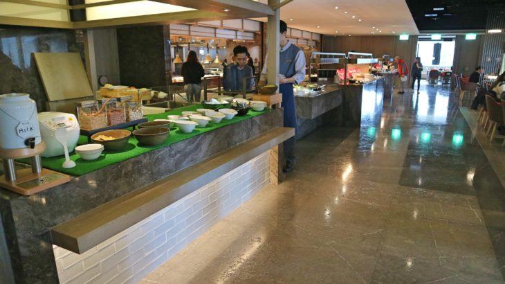 ヒルトン台北新板の朝食レビュー!