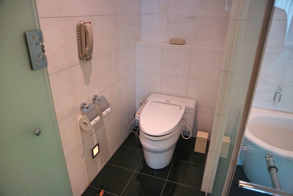 コンラッド東京のトイレ