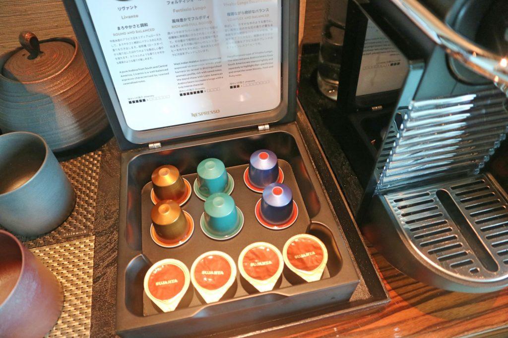 コンラッド東京のコーヒーメーカー
