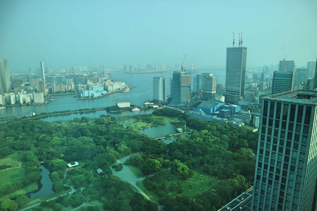 コンラッド東京の景色