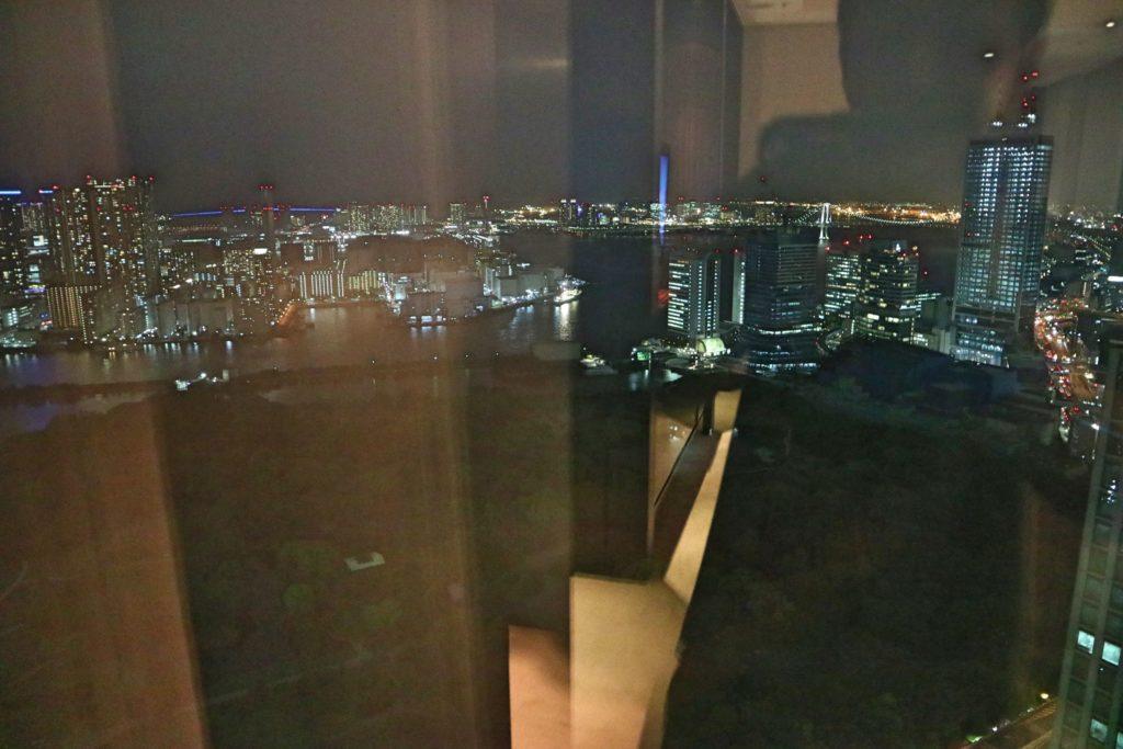 コンラッド東京の夜景