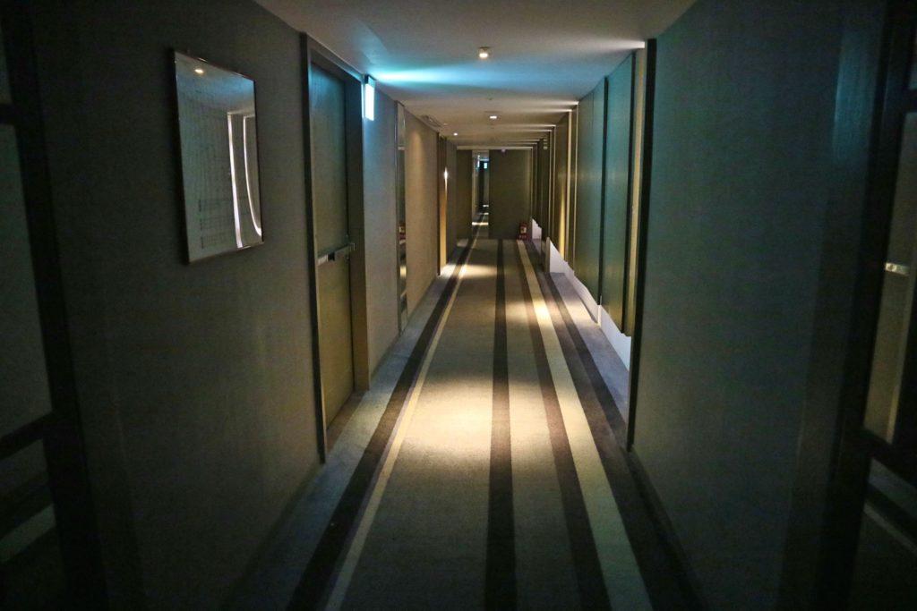 ミッドタウンリチャードソンの廊下