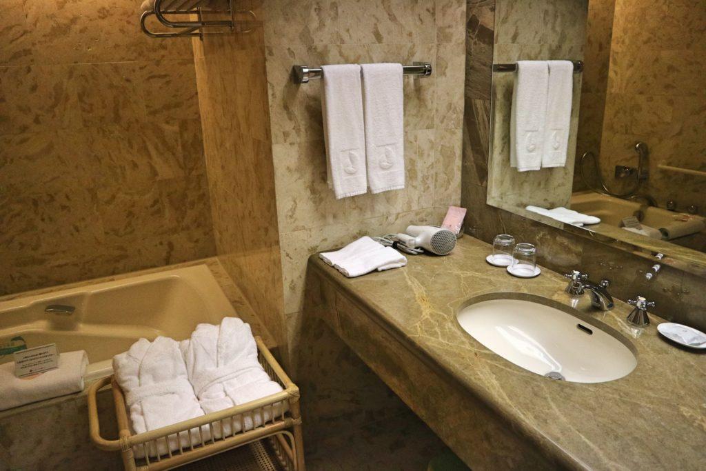 オークラ東京ベイのバスルーム