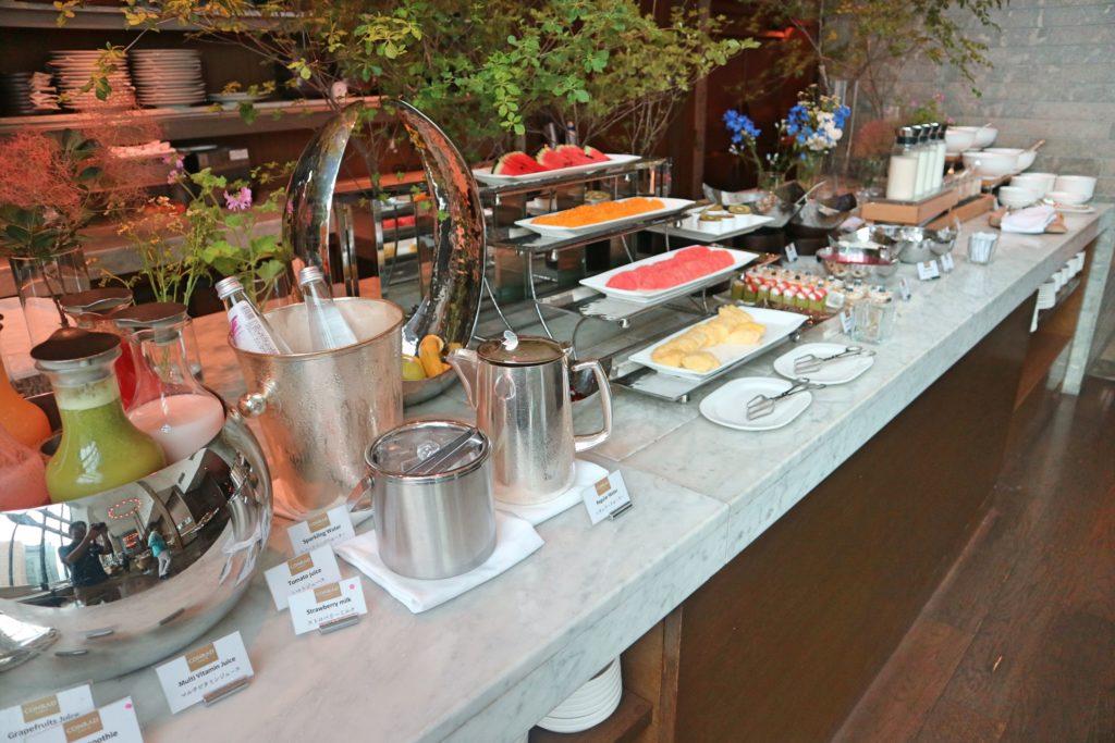 コンラッド東京セリーズの朝食2
