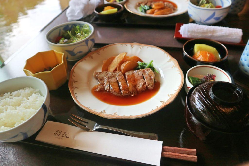 オークラ東京ベイの朝食ステーキ