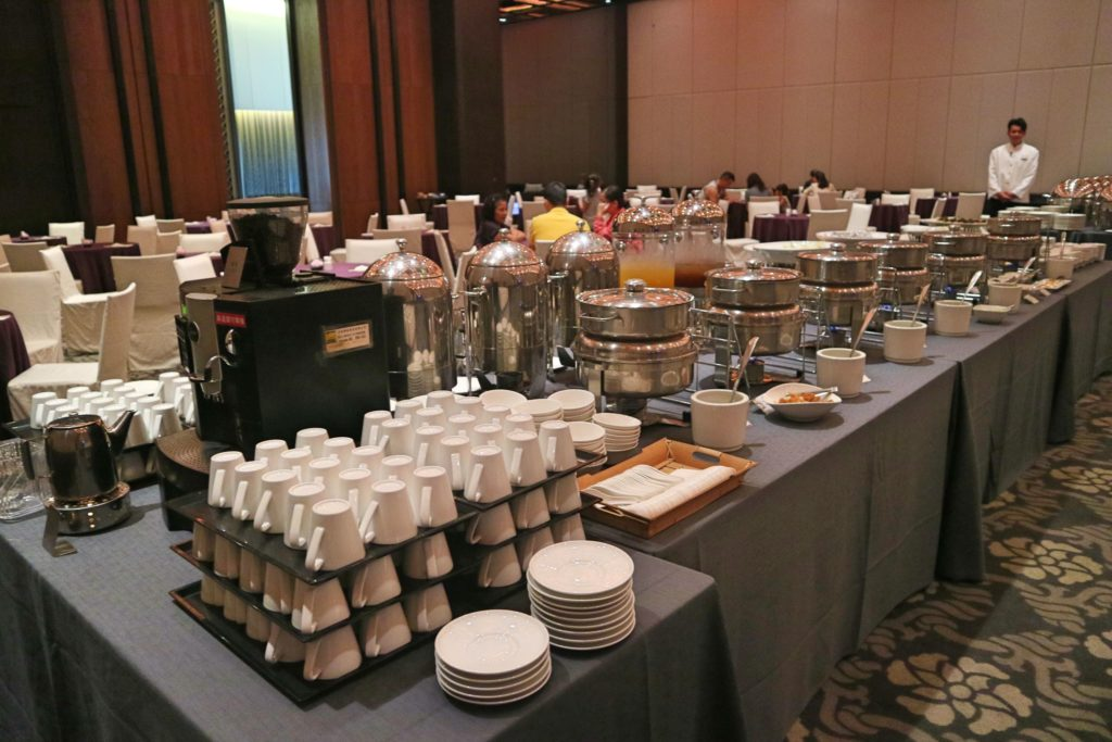 シルクスプレイス台南の朝食