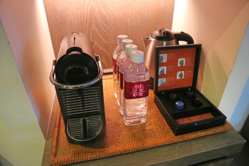 シルクスプレイス台南のコーヒーメーカー