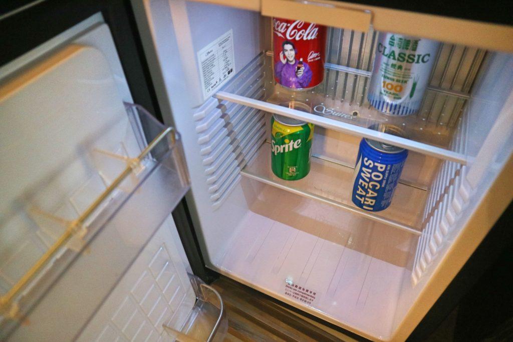 シルクスプレイス台南の冷蔵庫