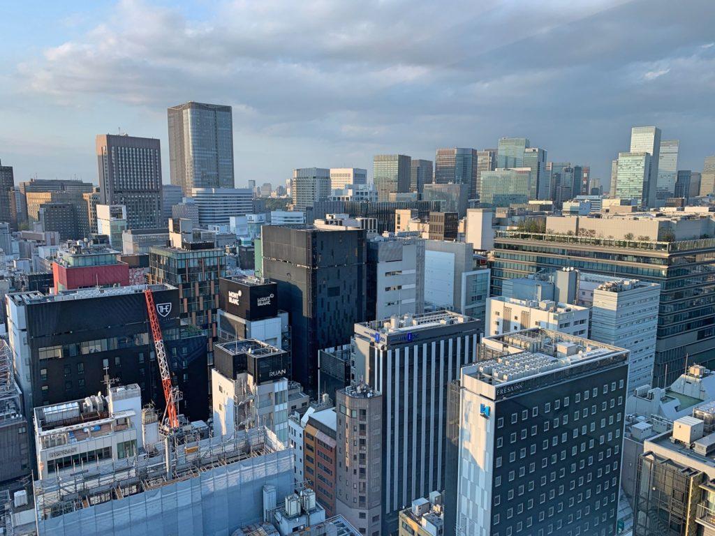 三井ガーデンホテル銀座プレミア景色