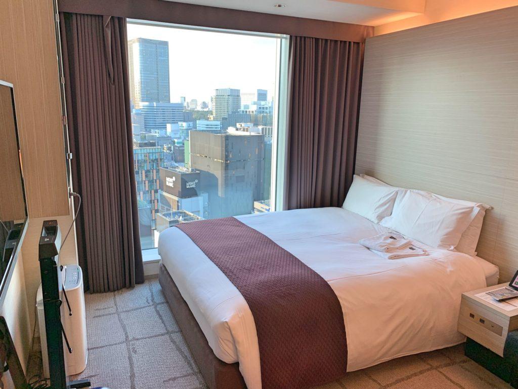 三井ガーデンホテル銀座プレミアの部屋
