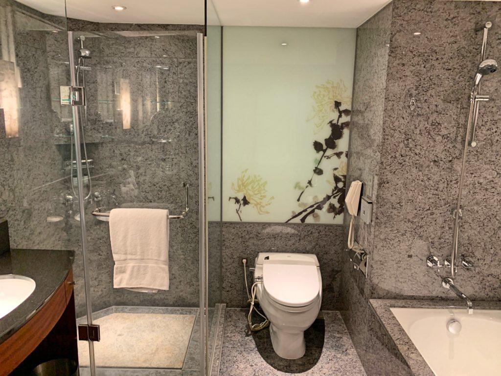 シェラトン台北のバスルーム