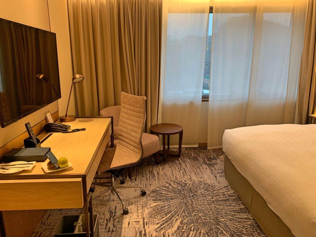シェラトン台北の部屋