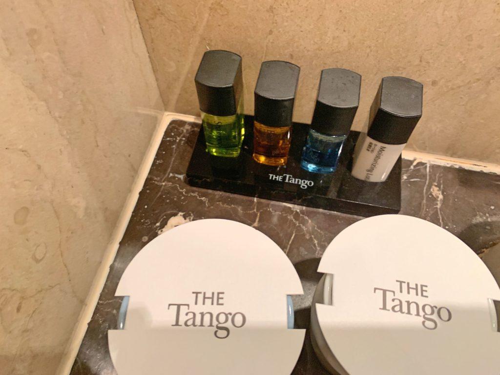タンゴホテル台北南西館のアメニティ
