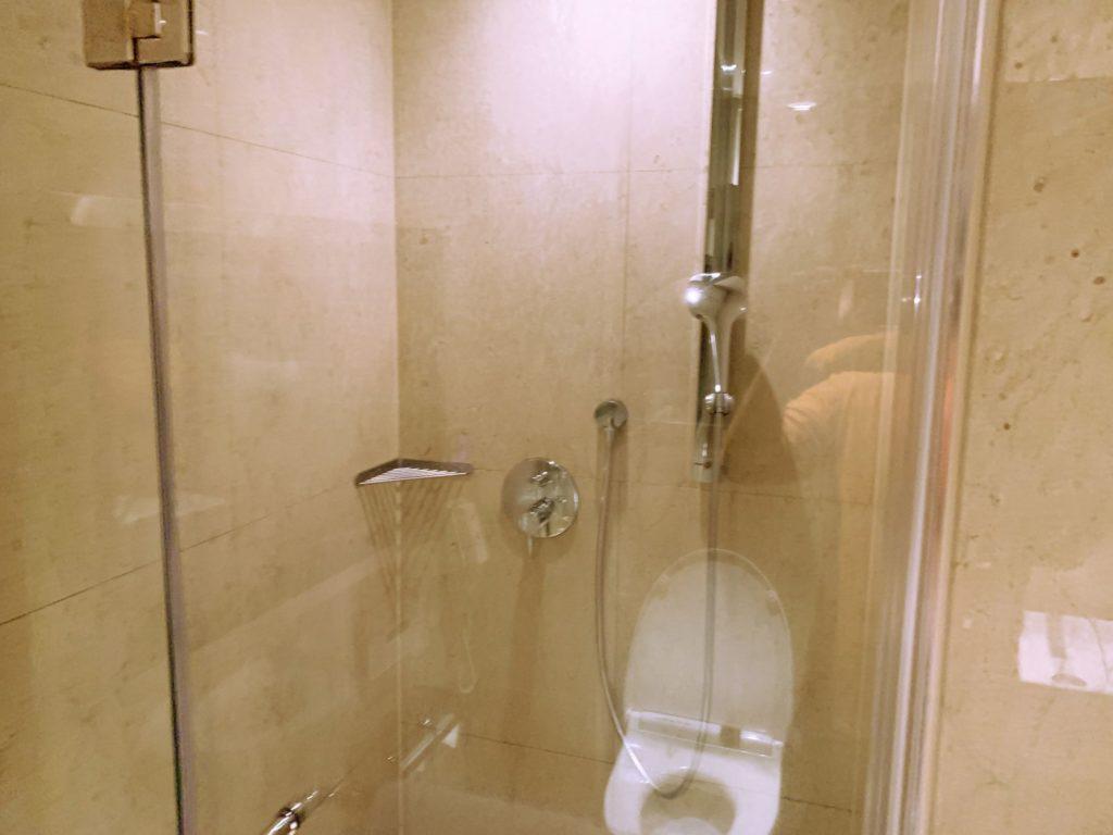 タンゴホテル台北南西館のシャワールーム