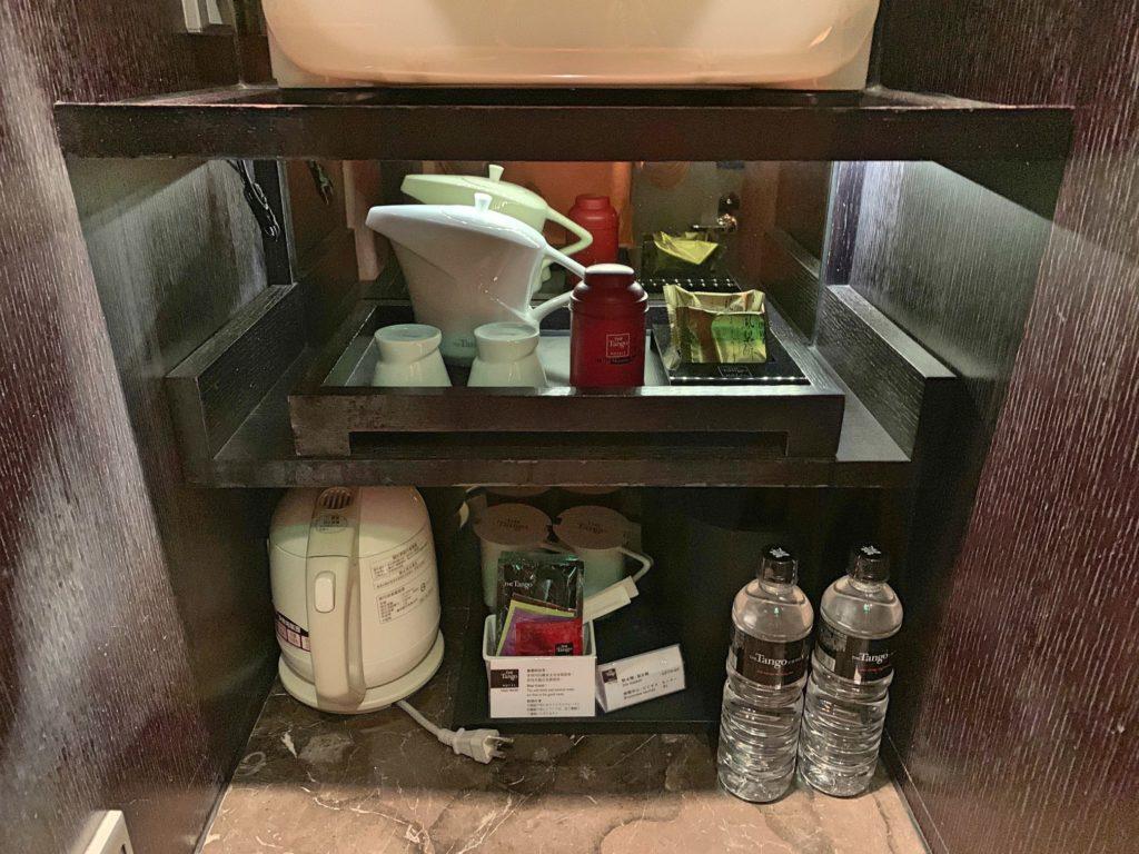 タンゴホテル台北南西館のミニバー