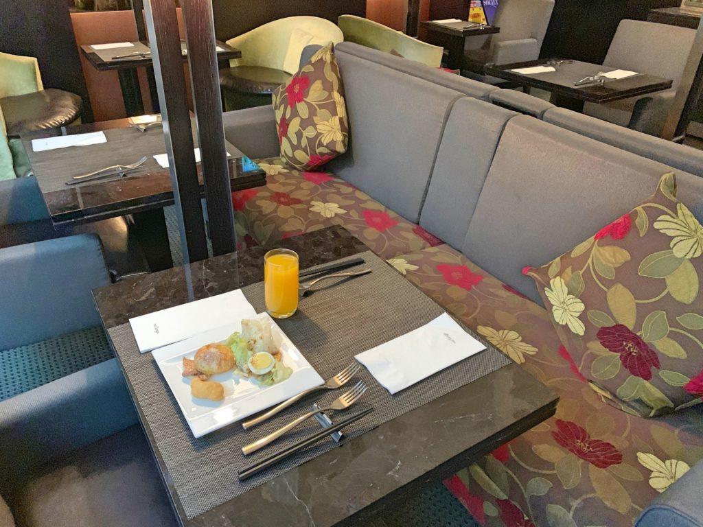タンゴホテル台北南西館の朝食