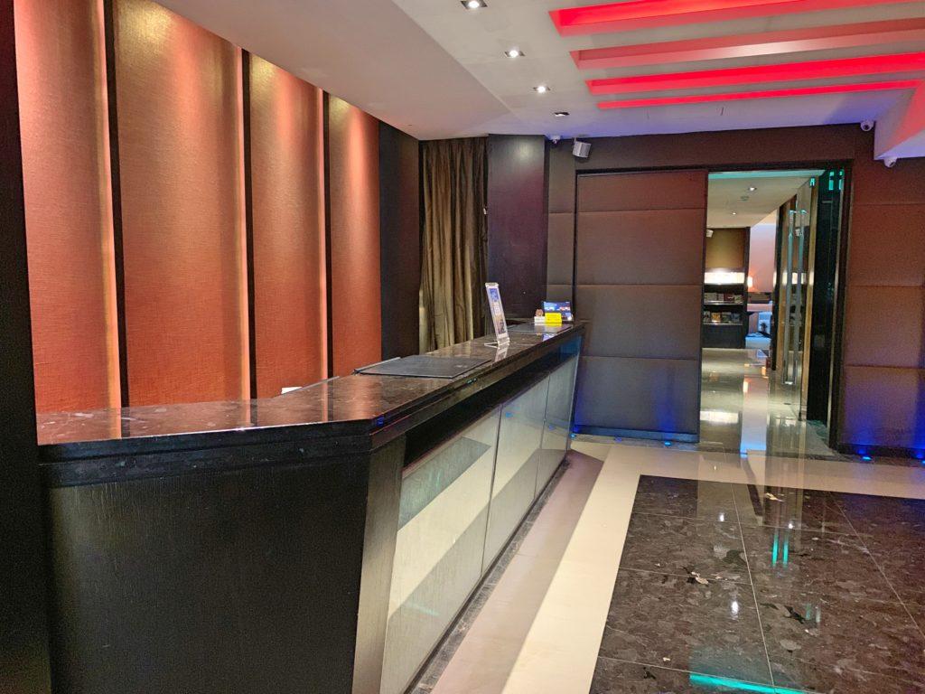 タンゴホテル台北南西のフロント