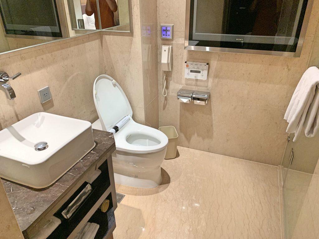 タンゴホテル台北南西館のバスルーム