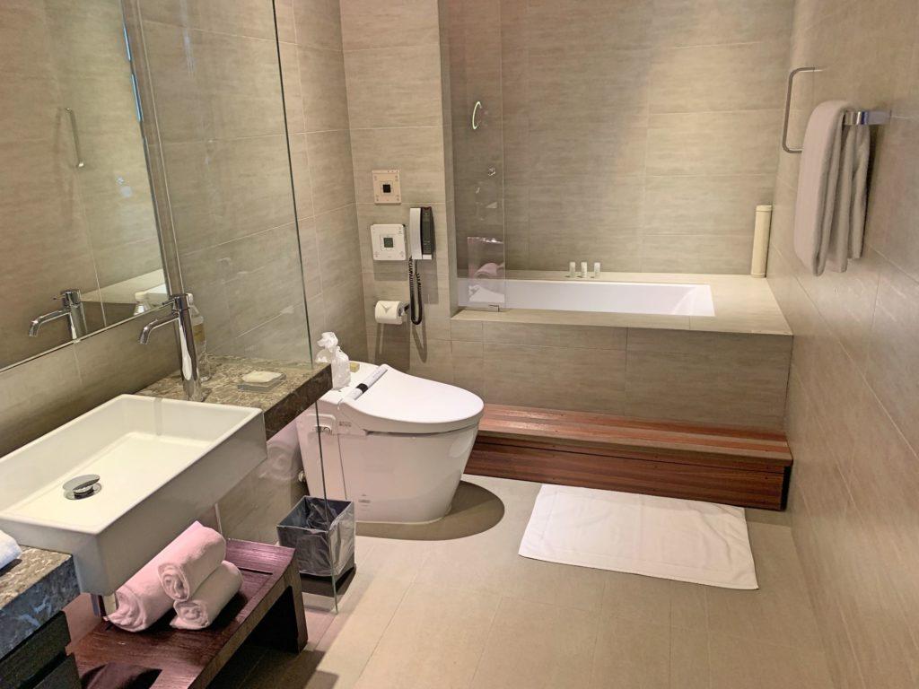 ハンブルハウス台北のバスルーム