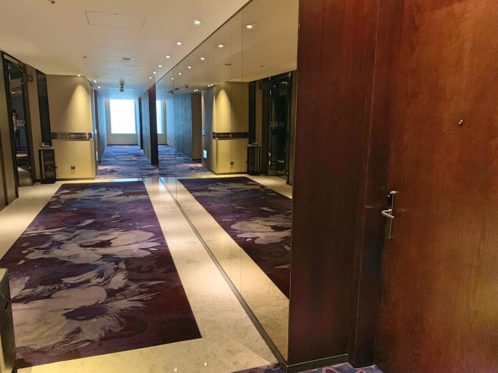 ハンブルハウス台北の廊下