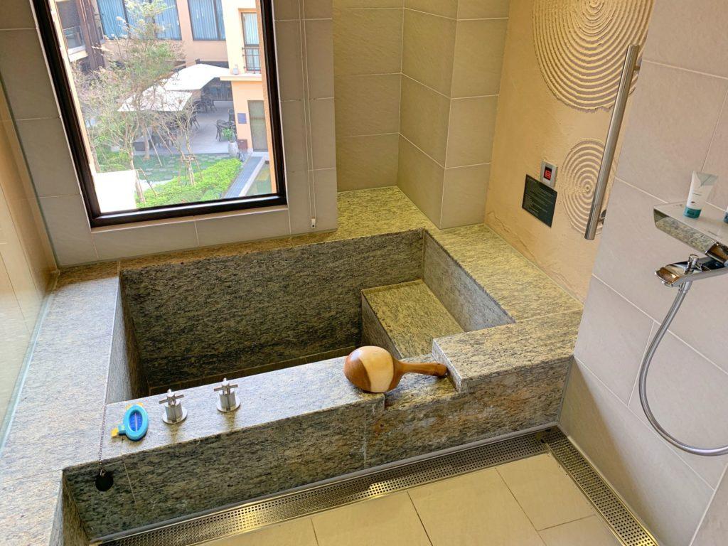 ウェスティン宜蘭リゾートの温泉