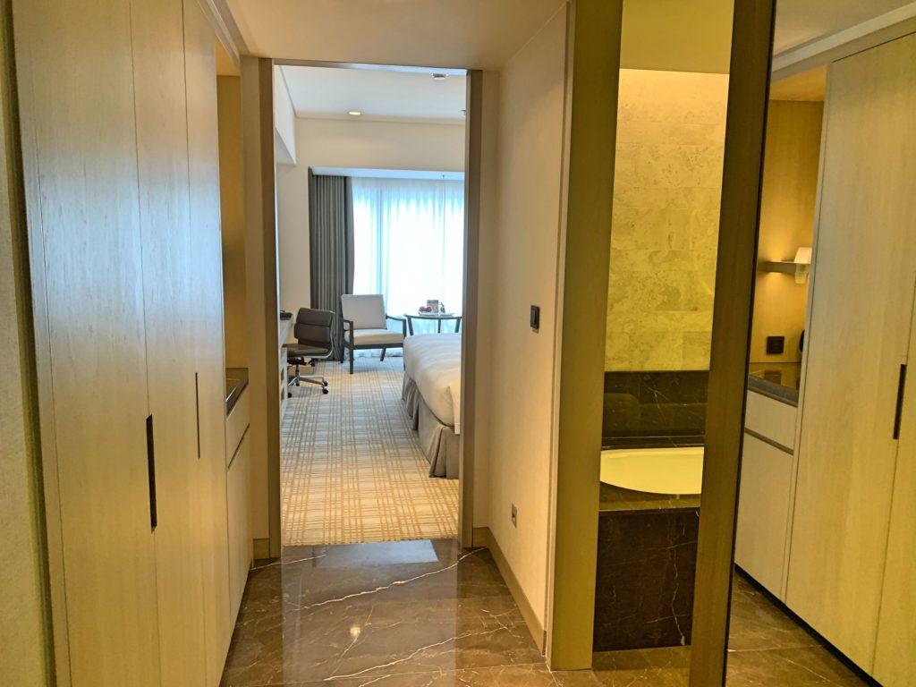 台北マリオットホテルの部屋