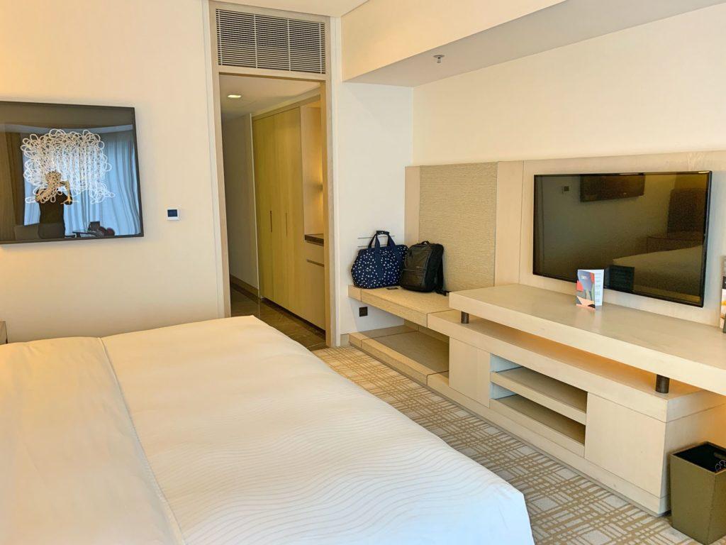 台北マリオットホテルのテレビ
