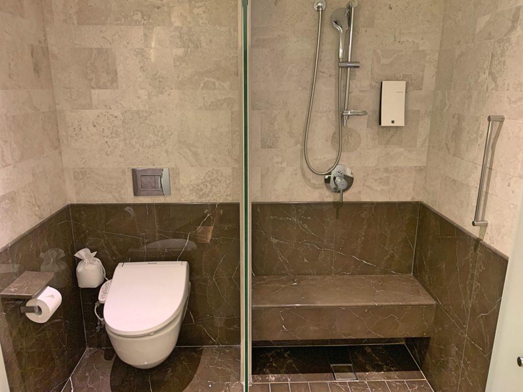 台北マリオットホテルのトイレ