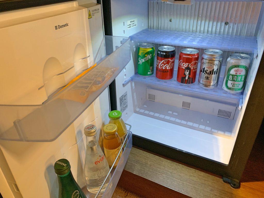 シャングリラ台北の冷蔵庫