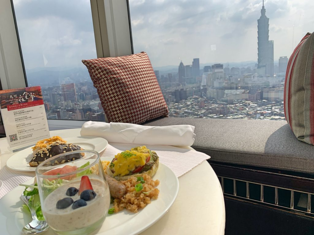 シャングリラ台北の朝食