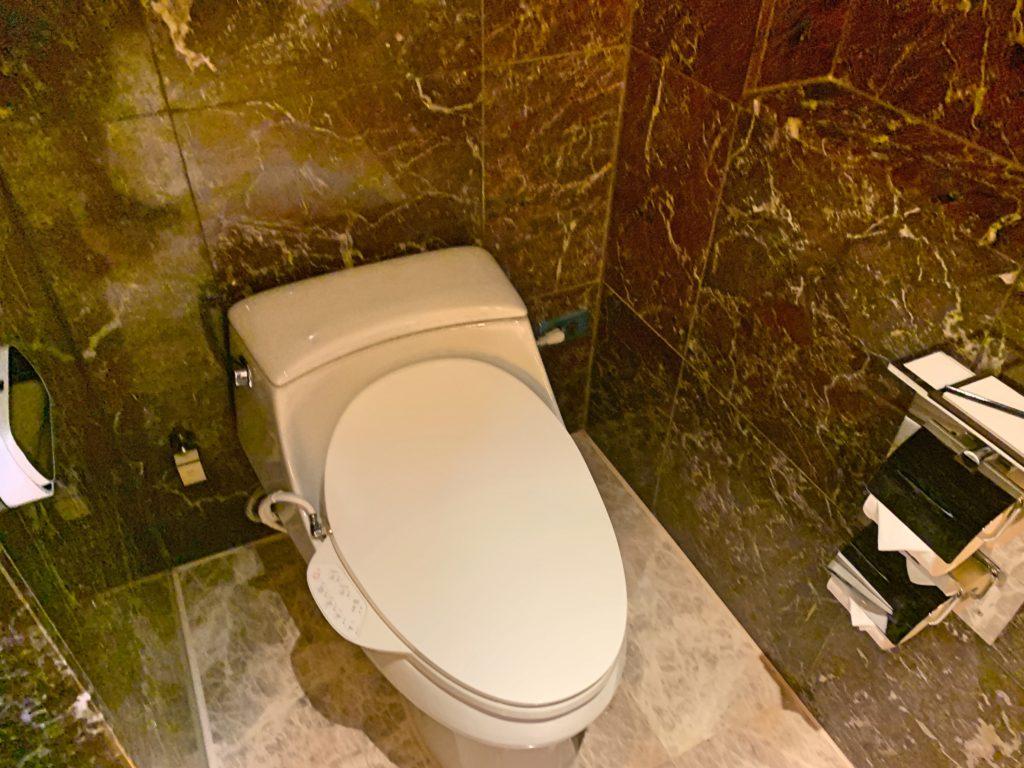 シャングリラ台北のトイレ