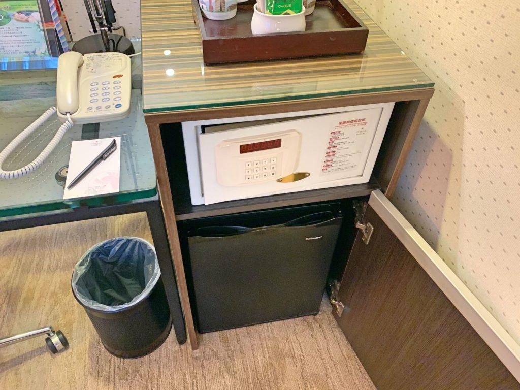 シーザーパーク台北の冷蔵庫
