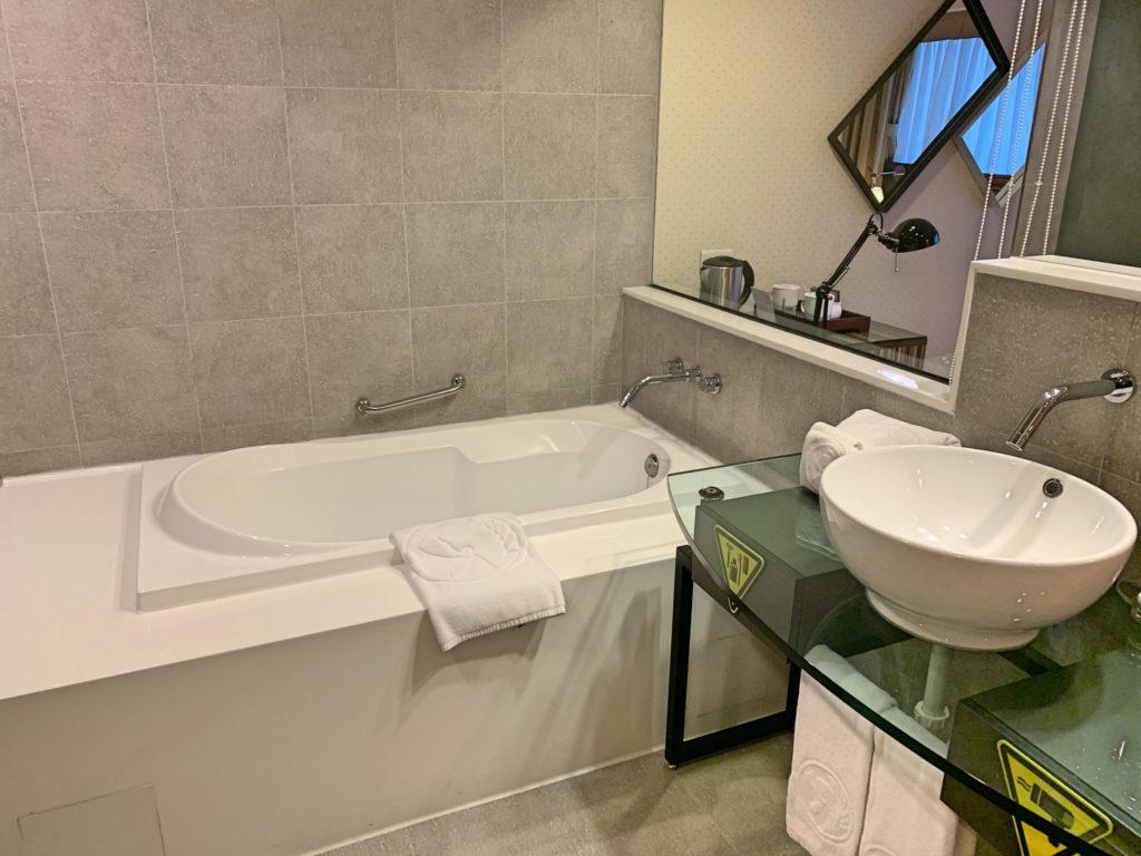 シーザーパーク台北のお風呂