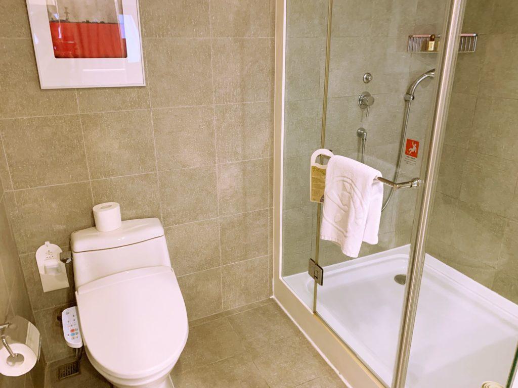 シーザーパーク台北のトイレ