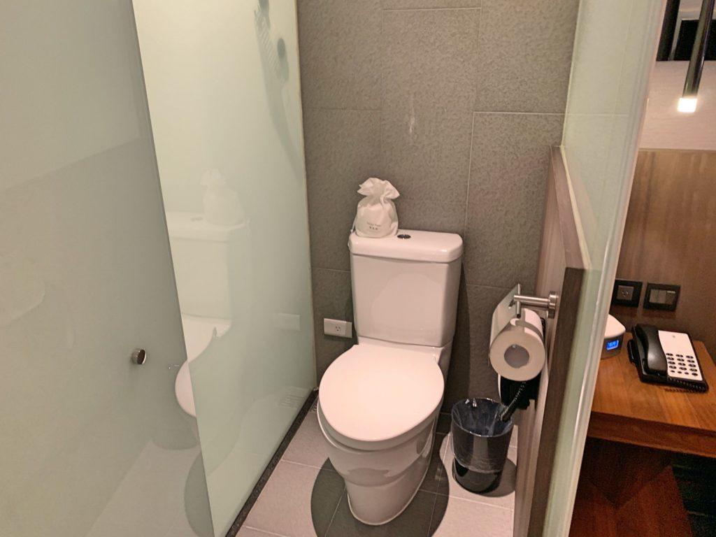 ウエストゲートのトイレ