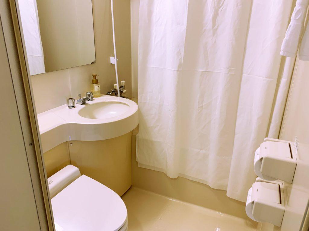 サンルート台北のバスルーム