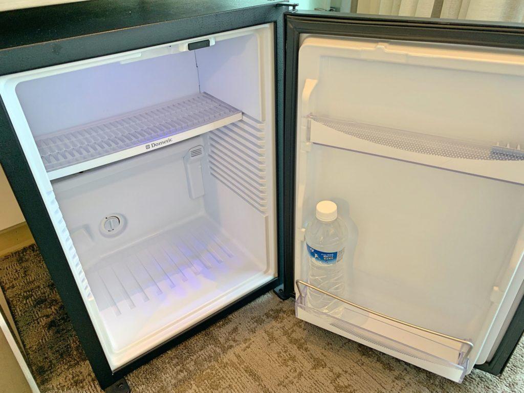 シティインホテル松山の冷蔵庫