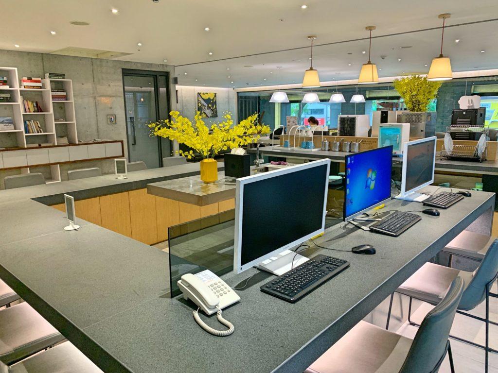 シティインホテル松山のビジネスセンター