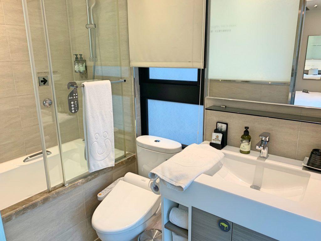 シティインホテル松山のバスルーム