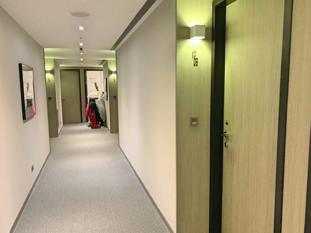 シティインホテル松山の廊下