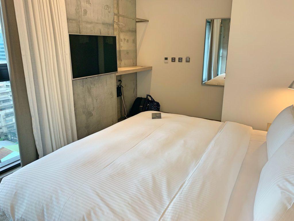 シティインホテル松山のベット