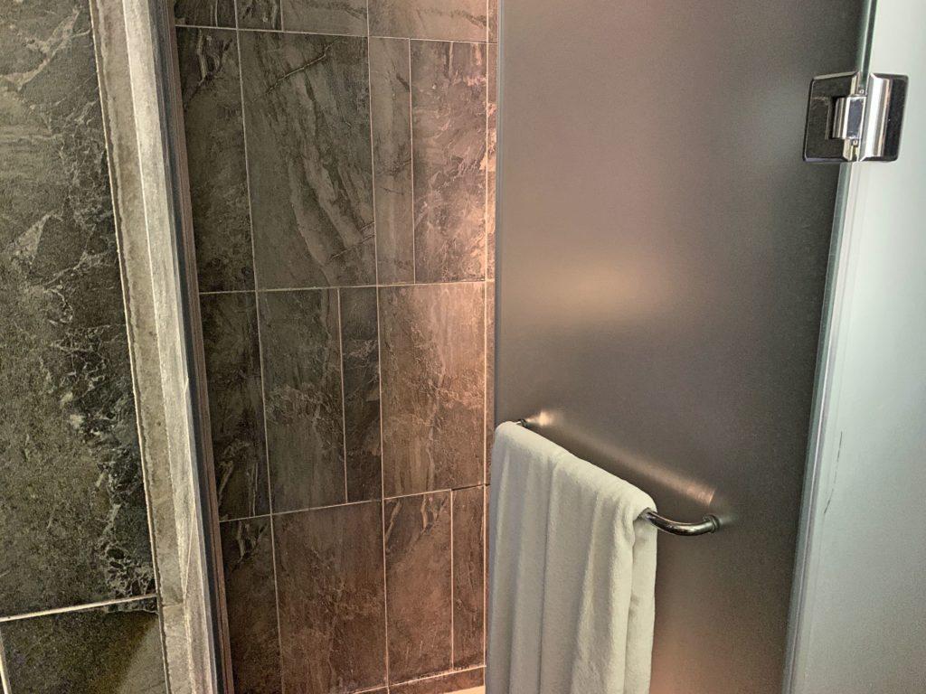 ウェルスプリングバイシルクスのシャワールーム