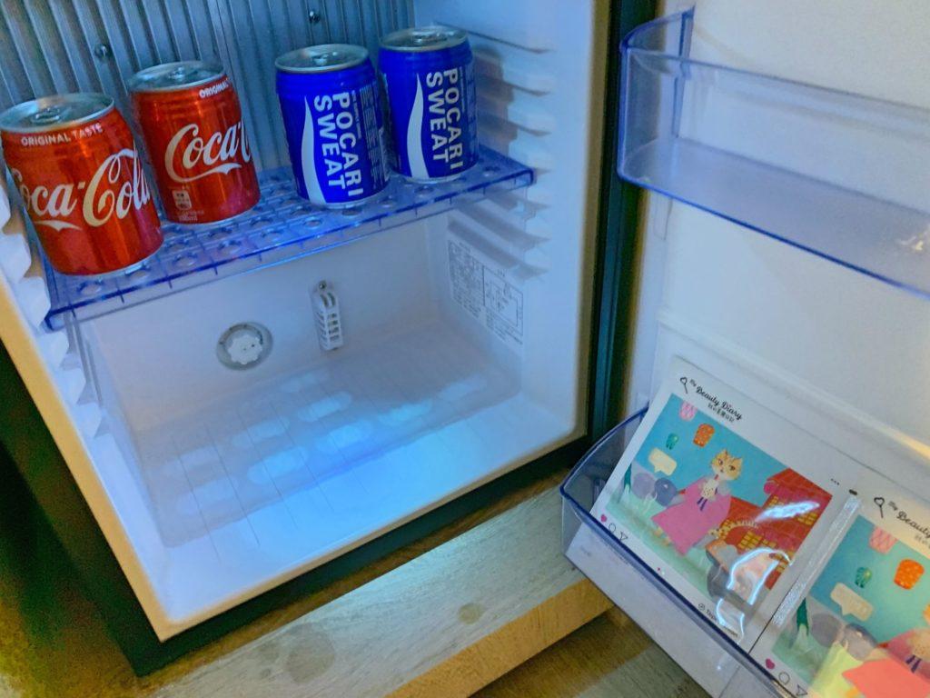 ウェルスプリングバイシルクスの冷蔵庫