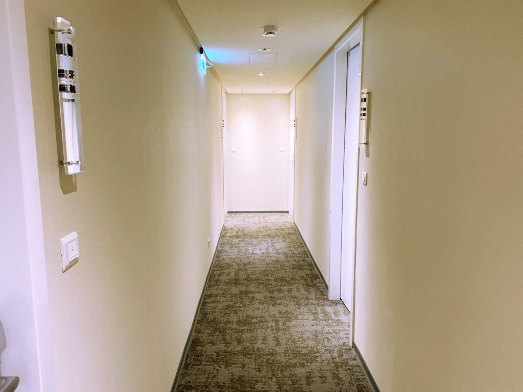 ダンディホテル大安の廊下