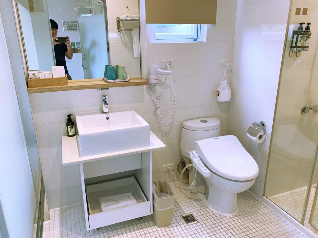ダンディホテル大安のトイレ
