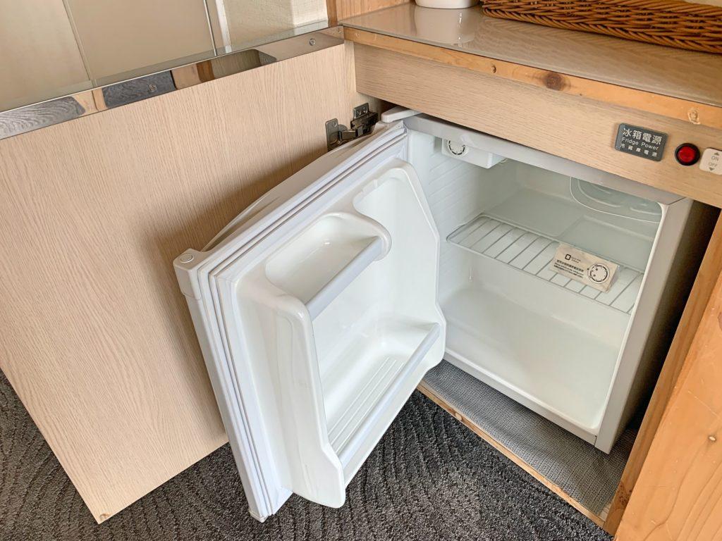 ダンディホテル大安の冷蔵庫