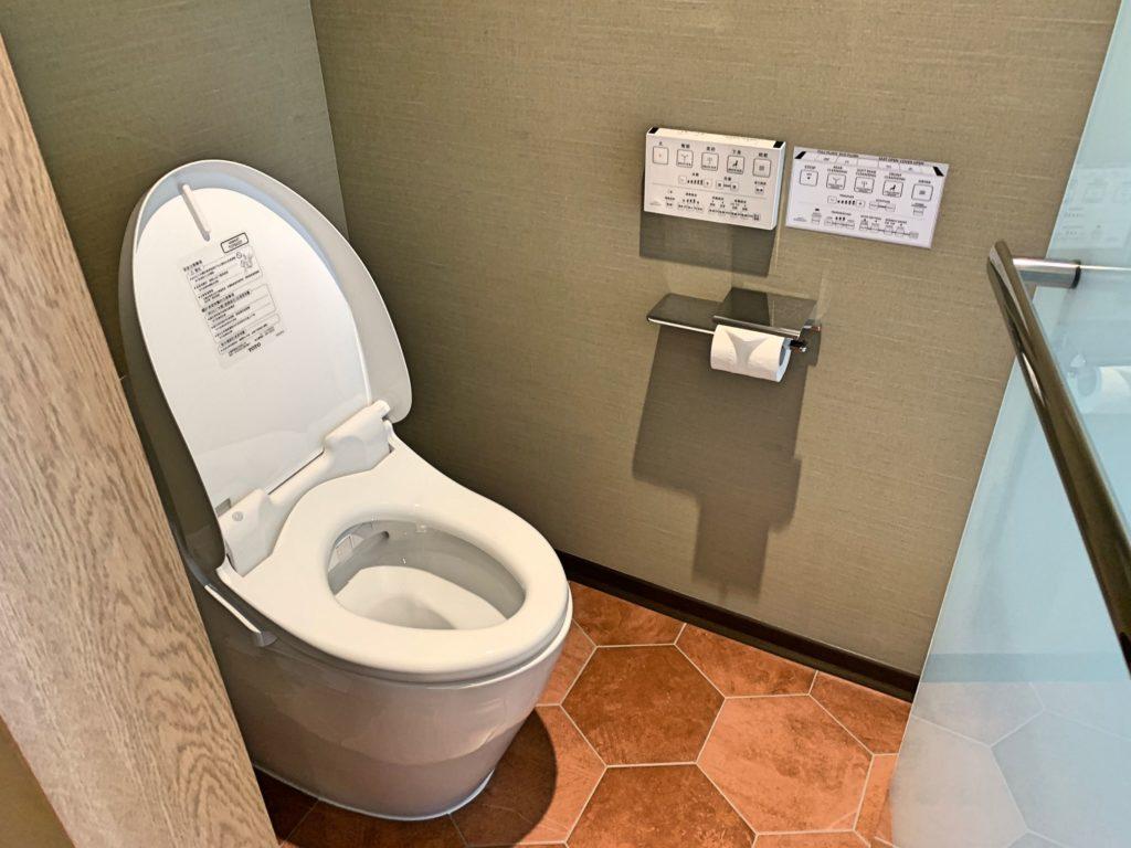 三井ガーデン台北のトイレ